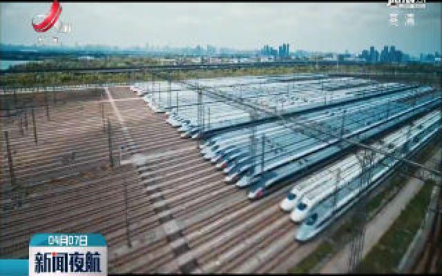 武汉230组高铁动车整装待发!
