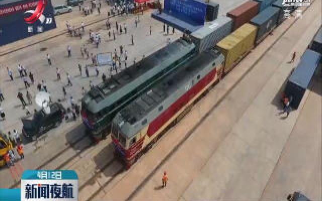 2020年赣州国际陆港已开行班列四百多列