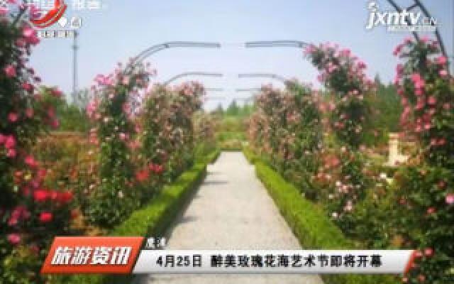鹰潭:4月25日 醉美玫瑰花海艺术节即将开幕