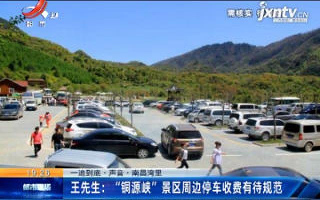 """【一追到底·声音】南昌湾里·王先生:""""铜源峡""""景区周边停车收费有待规范"""
