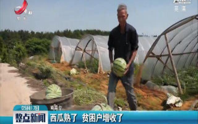 南昌:西瓜熟了 贫困户增收了