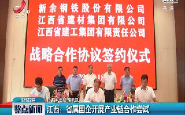 江西:省属国企开展产业链合作尝试