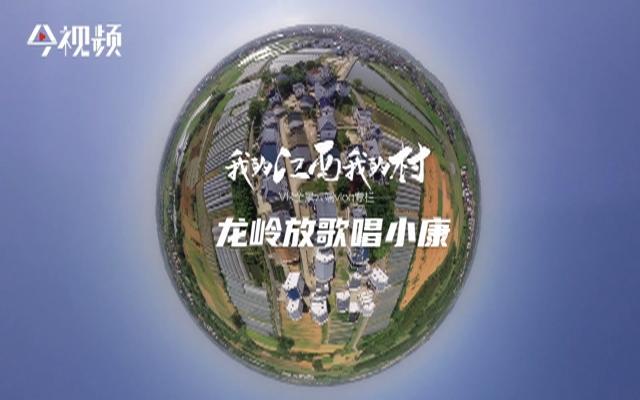全景vlog专栏《我的江西我的村》:龙岭放歌唱小康
