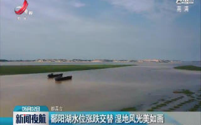 鄱阳湖水位涨跌交替 湿地风光美如画