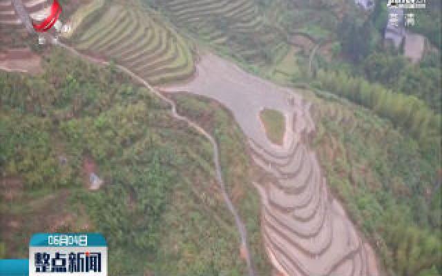 遂川:十万亩高山梯田完成复耕注水