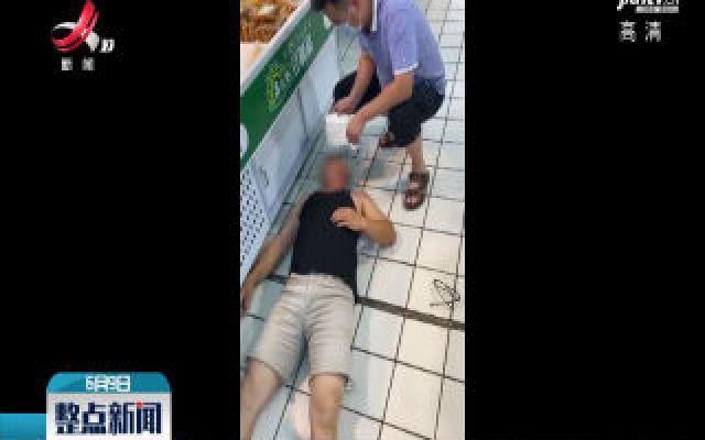 赣州:逛超市男子晕厥 正购物医生施救