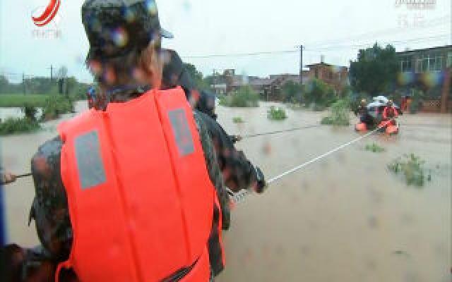 连续强降雨导致江西多地受灾严重