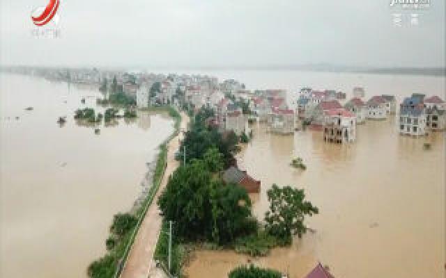 鄱阳县问桂道堤:妥善安置受灾群众  加紧准备封堵决口