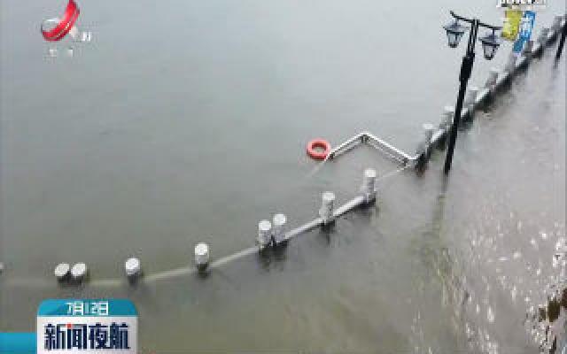 长江汉口站水位到达28.38米