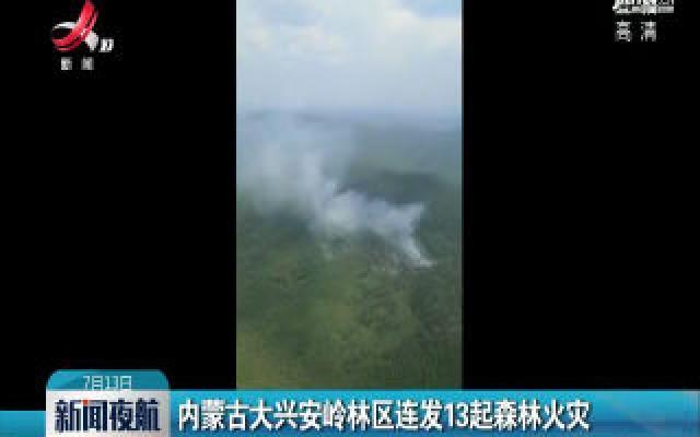 内蒙古大兴安岭林区连发13起森林火灾