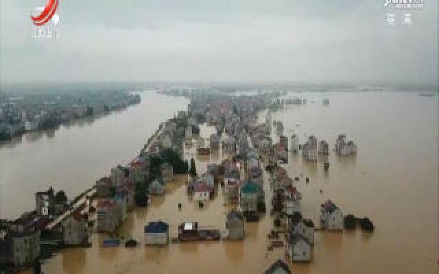 江西广播电视台新闻频道推出抗洪抢险直播特别节目