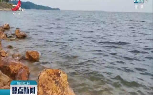 九江:鄱阳湖水位高位波动持续缓退