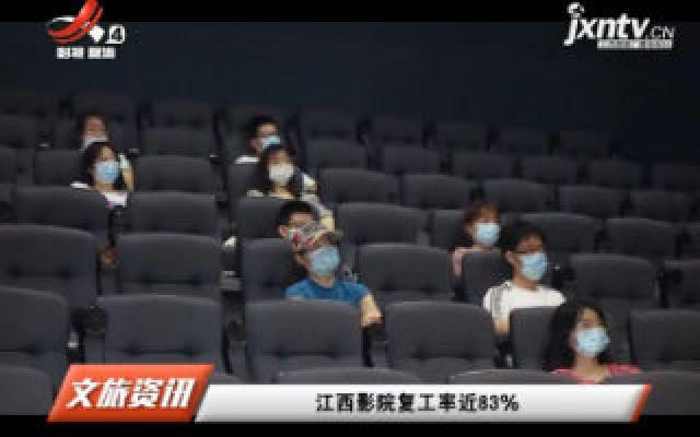 江西影院复工率近83%