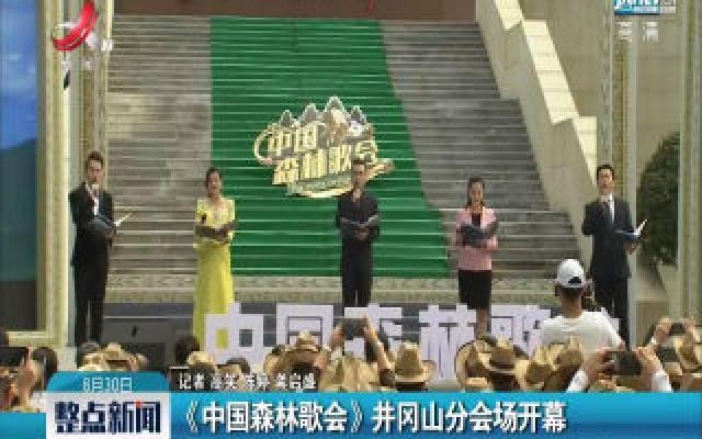 《中国森林歌会》井冈山分会场开幕