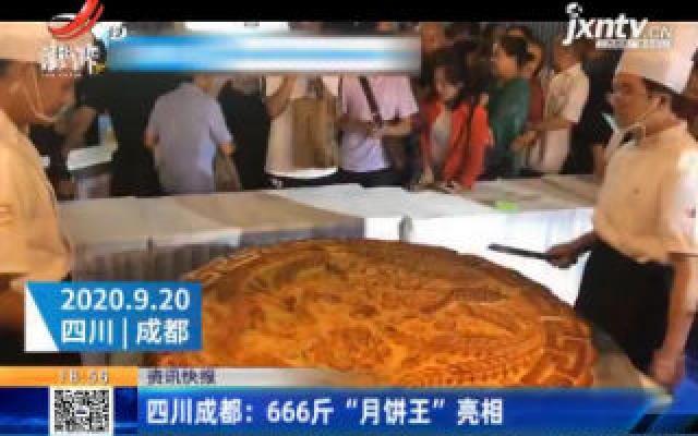 """四川成都:666斤""""月饼王""""亮相"""