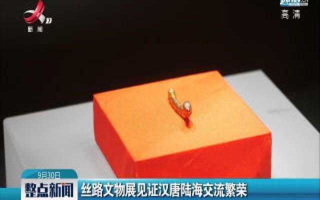 丝路文物展见证汉唐陆海交流繁荣