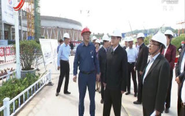 易炼红在赣州调研时强调 加快项目建设  强化创新引领  全力以赴推动全省高质量跨越式发展