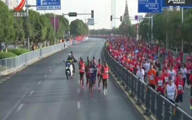 2019南昌国际马拉松获评金牌赛事