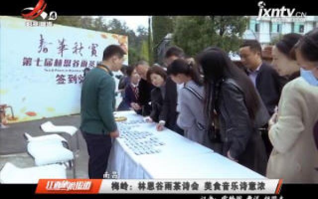 南昌梅岭:林恩谷雨茶诗会 美食音乐诗意浓
