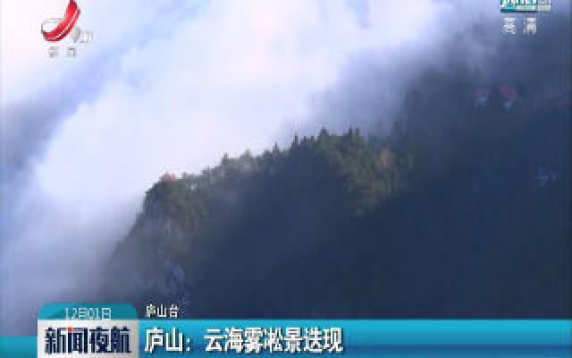 庐山:云海雾凇景迭现