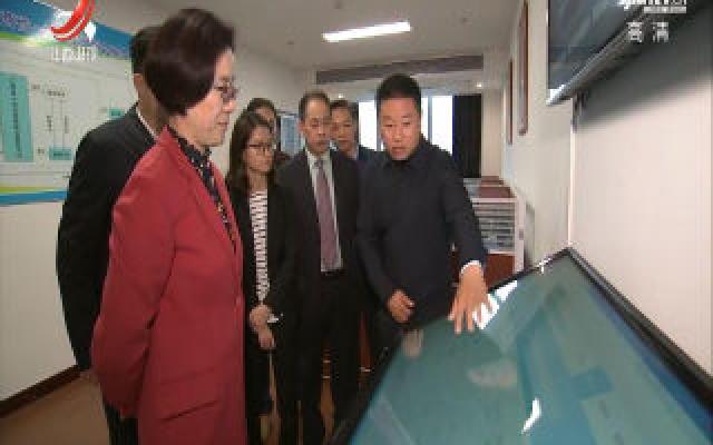 吴忠琼在省非公有制经济发展服务中心调研