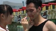 江西卫视《向前向前向前》冲关现场上演涂鸦大战